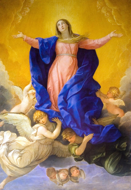 Guido Reni assumption of the Virgin - Copia