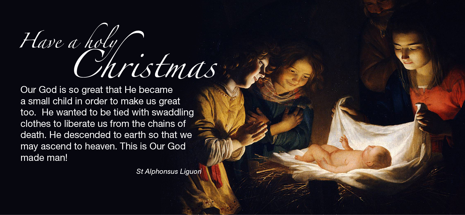 Have a Holy Christmas – Missionaries of Divine Revelation