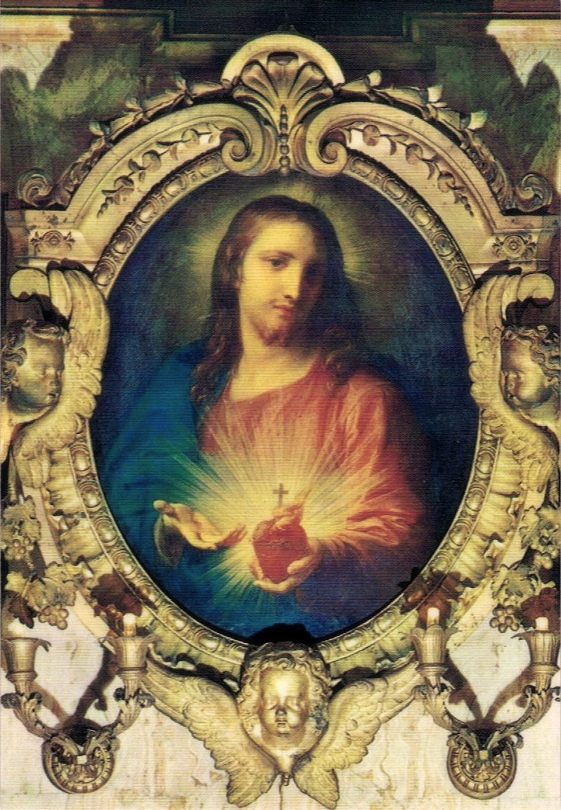 Sacred Heart Of Jesus Famous Painting