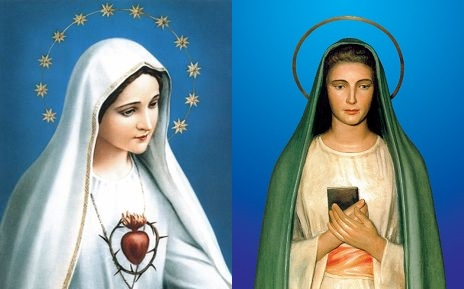 Our Lady of Fatima e Virgin of Revelation