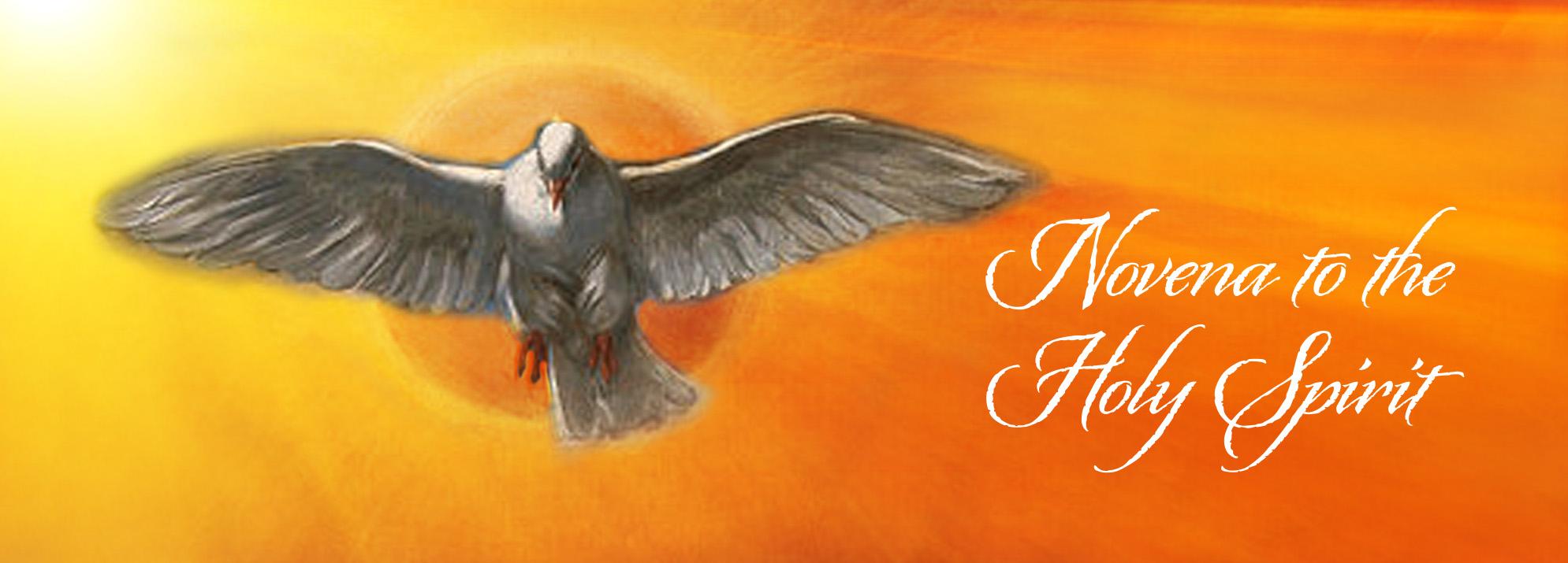 Pentecost Novena – day 1 – Missionaries of Divine Revelation
